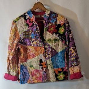 Cotton Patchwork Jacket Boho Hippie Festival Wear
